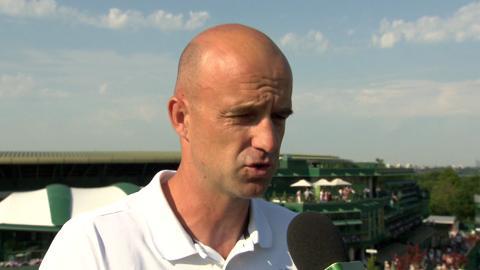 Ivan Ljubicic Live @ Wimbledon interview