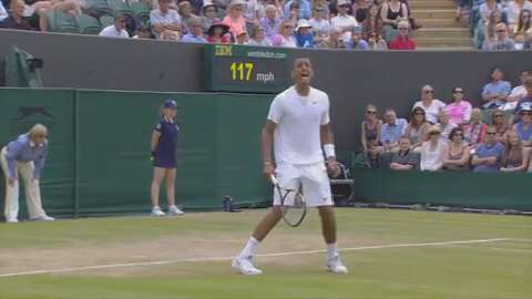 2014 Golden Moment - Kyrgios v Gasquet
