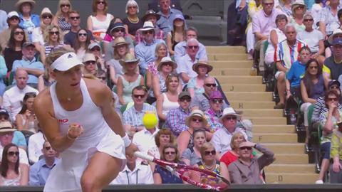 2014 Golden Moment - Kerber v Sharapova