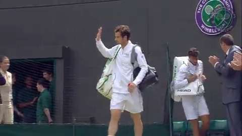 2015 Day 3 Highlights, Robin Haase vs Andy Murray