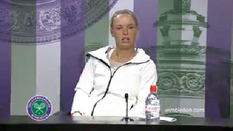 Caroline Wozniacki Second Round Press Conference