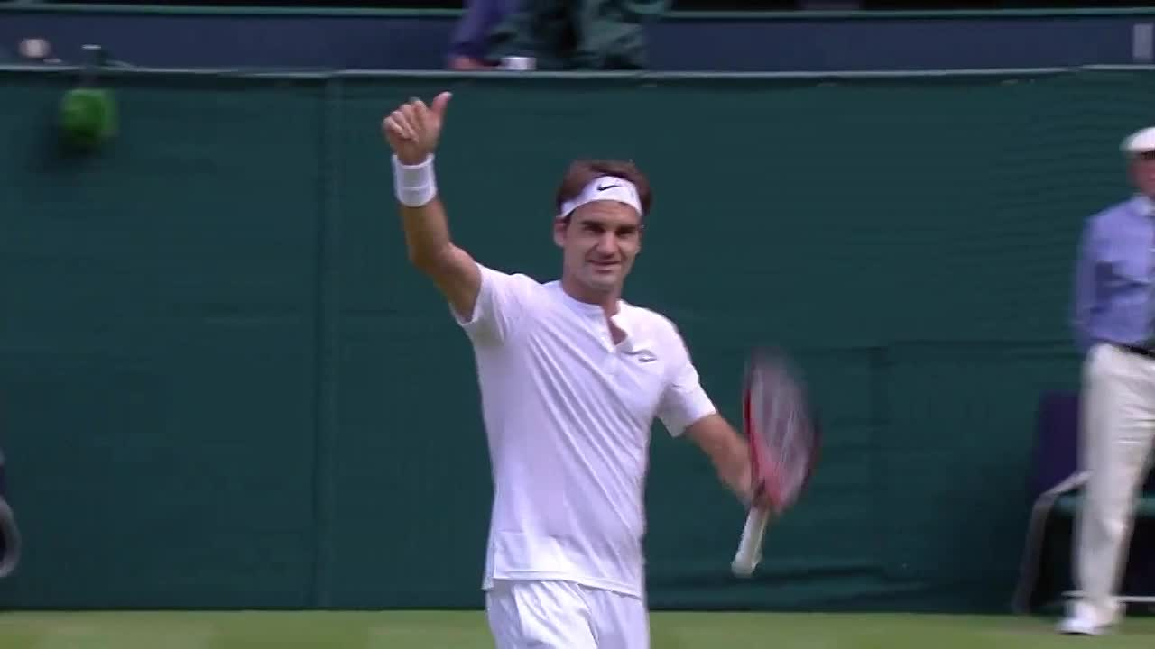 Majestic Federer continues to charm