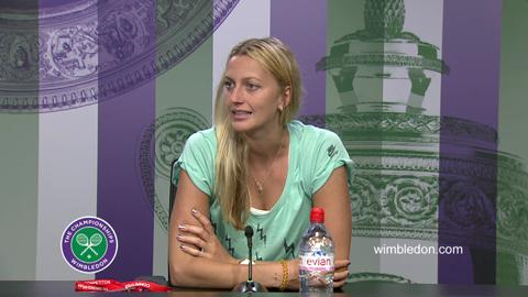 Petra Kvitova Second Round Press Conference