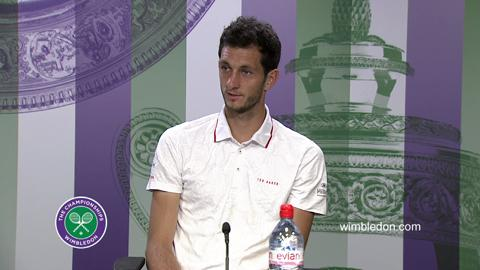 James Ward Second Round Press Conference