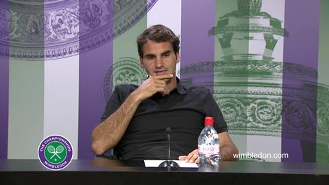 Roger Federer Second Round Press Conference