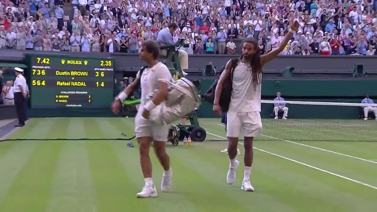Dustin Brown stuns Rafael Nadal with epic victory