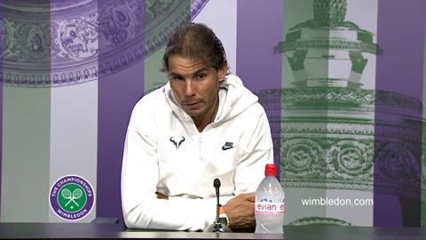 Rafael Nadal Second Round Press Conference