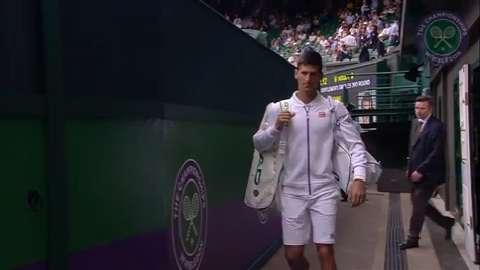 2015 Day 5 Highlights, Novak Djokovic vs Bernard Tomic