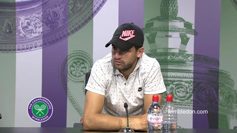 Grigor Dimitrov Third Round Press Conference