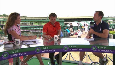 Craig O'Shannessey visits the Live @ Wimbledon studio
