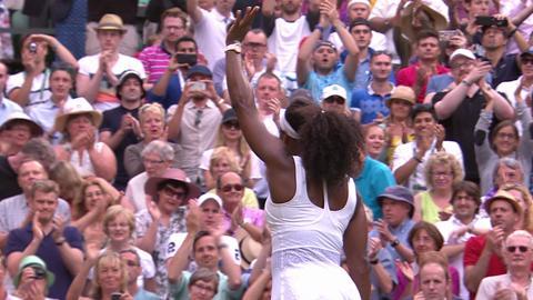 Serena survives Watson battle