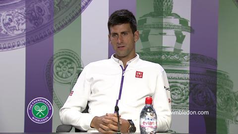 Novak Djokovic Third Round Press Conference