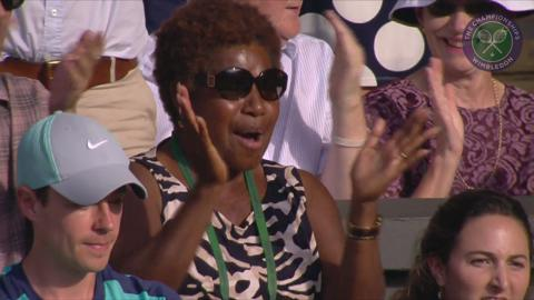 2015 Day 5 Highlights, Serena Williams vs Heather Watson