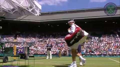 2015 Day 6 Highlights, Sam Groth vs Roger Federer