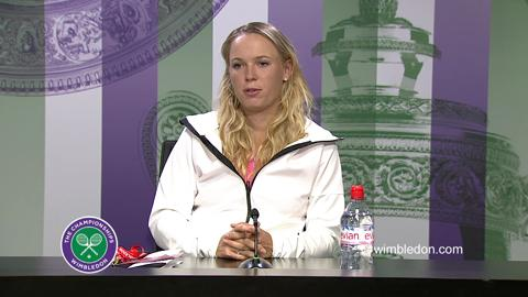 Caroline Wozniacki Third Round Press Conference