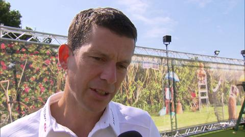 Tim Henman Live @ Wimbledon interview