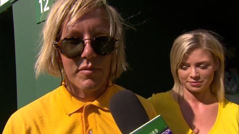 Live @ Wimbledon meets some fanatic Australian fans