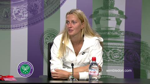 Petra Kvitova Third Round Press Conference