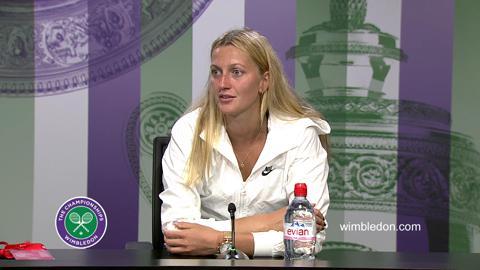 Petra Kvitova Third Round Press Conference