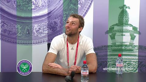 Ivo Karlovic Third Round Press Conference