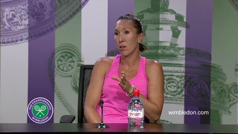 Jelena Jankovic Third Round Press Conference