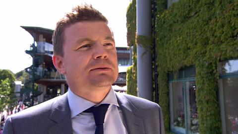 Brian O'Driscoll interview from the Royal Box
