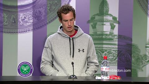 Andy Murray Third Round Press Conference