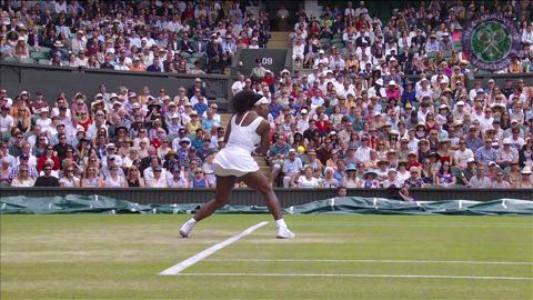 2015 Day 7 Highlights, Serena Williams vs Venus Williams