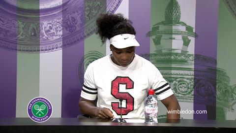 Serena Williams Fourth Round Press Conference