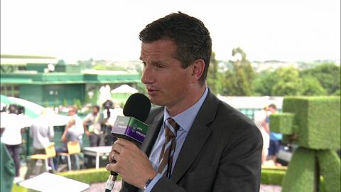 Richard Krajicek visits the Live @ Wimbledon studio