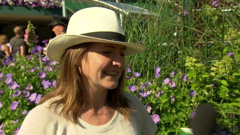 Goldie Sayers Live @ Wimbledon interview