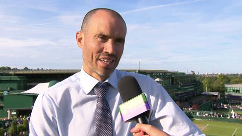 Andrew Cotter Live @ Wimbledon interview
