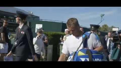 Lleyton Hewitt's Wimbledon goodbye