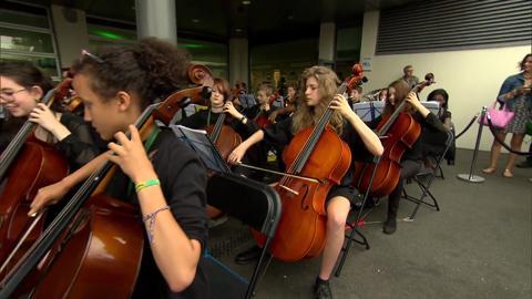 Rachel meets the Wandsworth Pops Orchestra