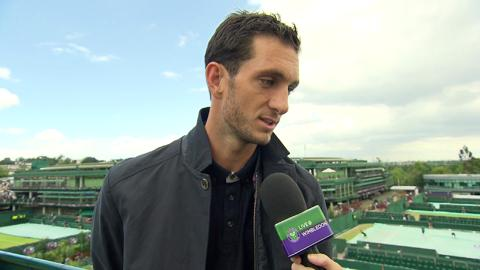 James Ward Live @ Wimbledon interview