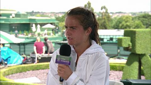 Anna Brogan visits the Live @ Wimbledon studio