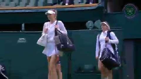 2015 Day 8 Highlights, Maria Sharapova vs Coco Vandeweghe, Quarter-Final