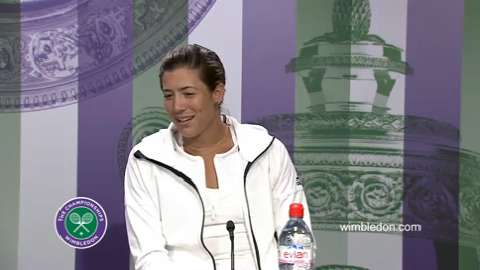 Garbine Murguruza Quarter-Final Press Conference