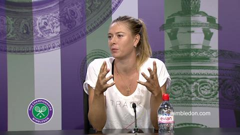 Maria Sharapova Quarter-Final Press Conference