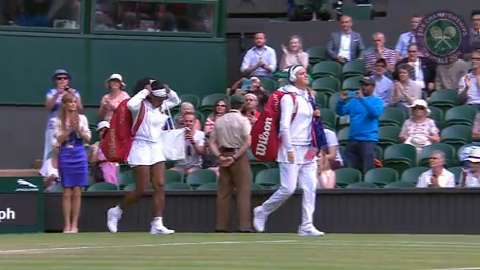 2015 Day 8 Highlights, Serena Williams vs Victoria Azarenka, Quarter-Final