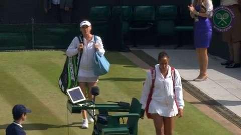 2015 Day 8 Highlights, Madison Keys vs Agnieszka Radwanksa, Quarter-Final