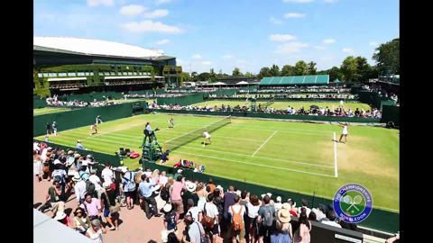 A day at Wimbledon in timelapse