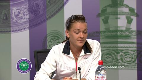 Agnieszka Radwanska Quarter-Final Press Conference