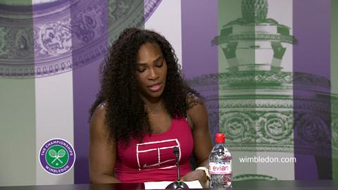 Serena Williams Quarter-Final Press Conference