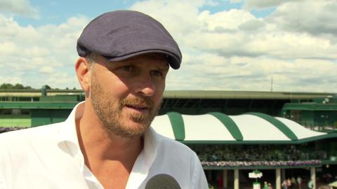 Dietmar Hamann Live @ Wimbledon interview