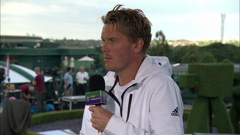 Thomas Enqvist visits the Live @ Wimbledon studio