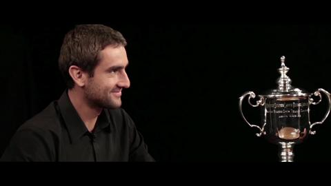Marin Cilic on his quarter-final