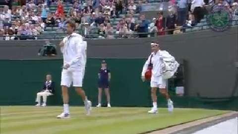 2015 Day 9 Highlights, Gilles Simon vs Roger Federer, Quarter-Final
