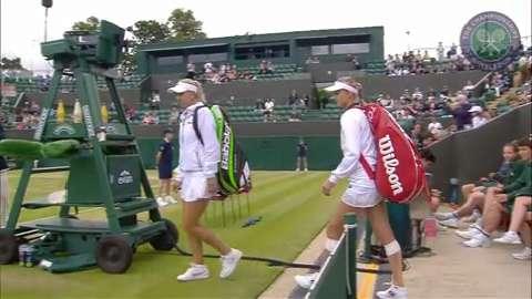 2015 Day 9 Highlights, Cara Black & Lisa Raymond vs Ekaterina Makarova & Elena Vesnina, Quarter-Final
