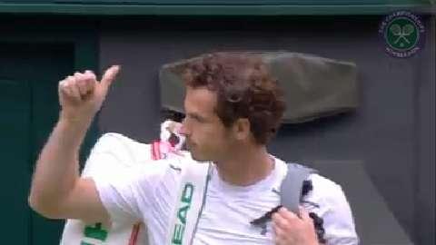 2015 Day 9 Highlights, Vasek Pospisil vs Andy Murray, Quarter-Final
